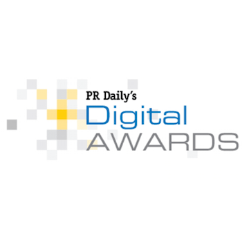 PR Daily's Digital Awards logo