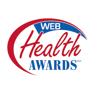 Web Health Awards logo