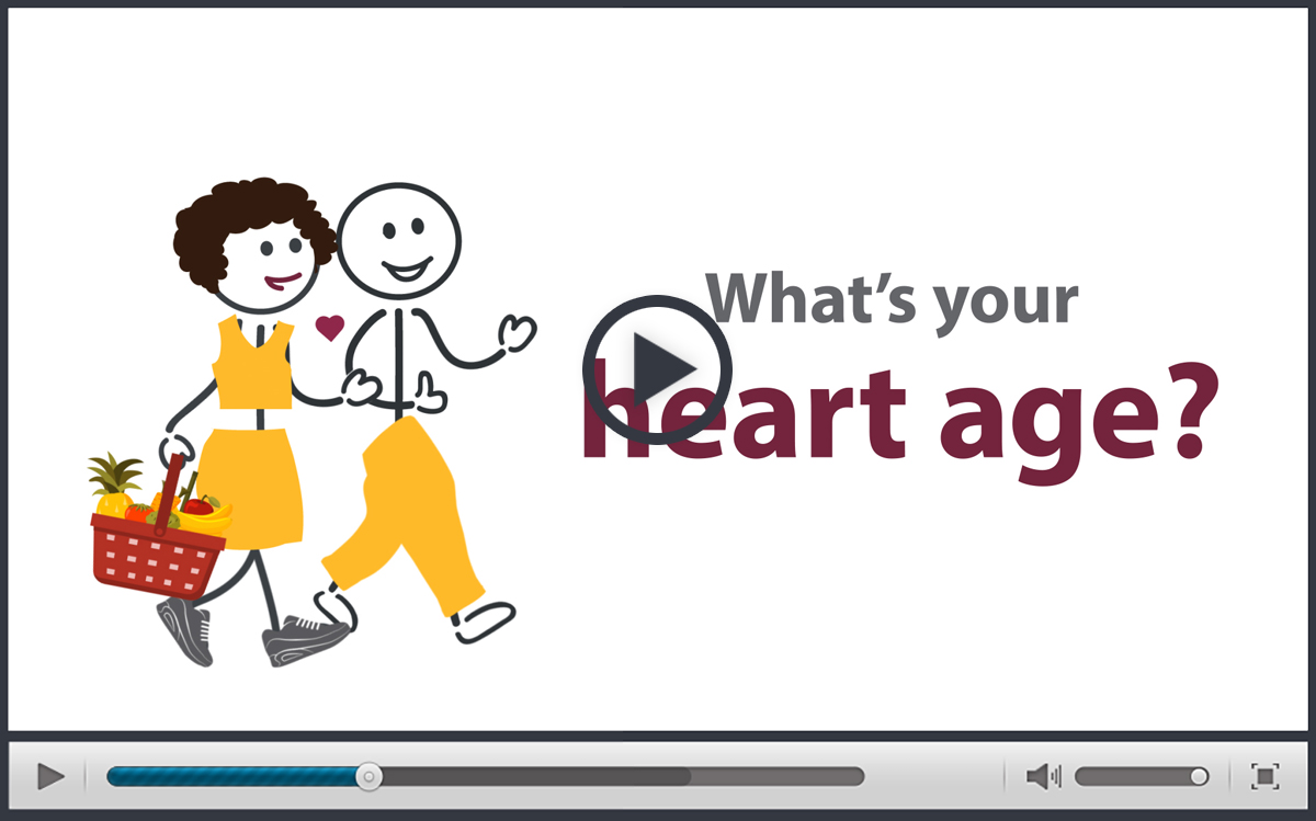 "Million Hearts® ""What's Your Heart Age?"" Video"