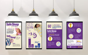 NICHD Safe Sleep for Your Baby Infographic