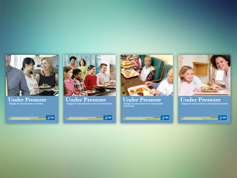 Palladian created a series of guides for schools, hospitals, worksites, and institutional settings to share strategies for sodium reduction in specific venues.