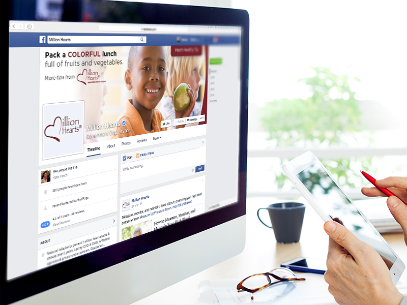 Palladian created monthly social media activities and content, including heart-healthy messages on Facebook and Twitter, to promote healthy lifestyles and help prevent cardiovascular disease.